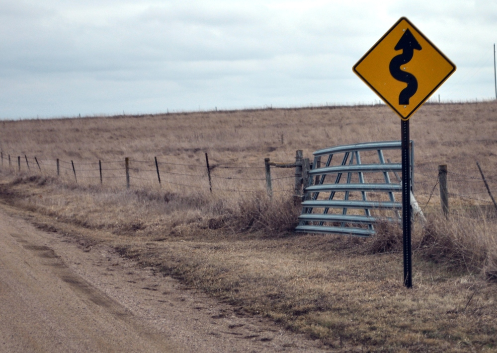 Signs on country roads...and in life. (5/6)