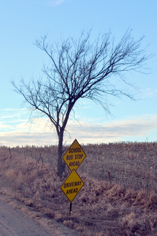 Signs on country roads...and in life. (3/6)