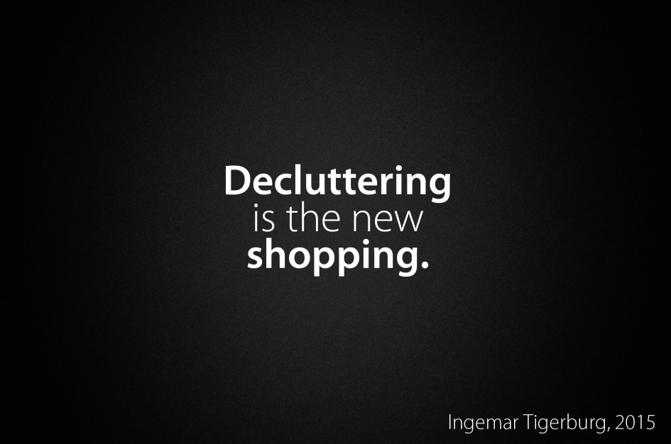 Decluttering: Taking Off The Top Layer (4/6)