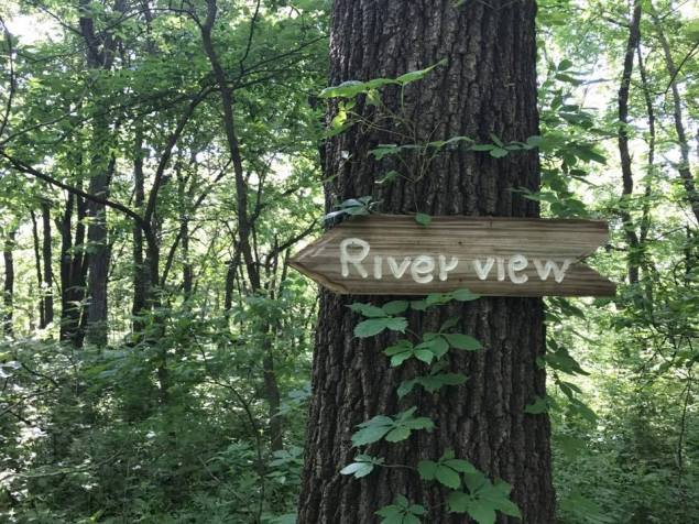 Riverview sign