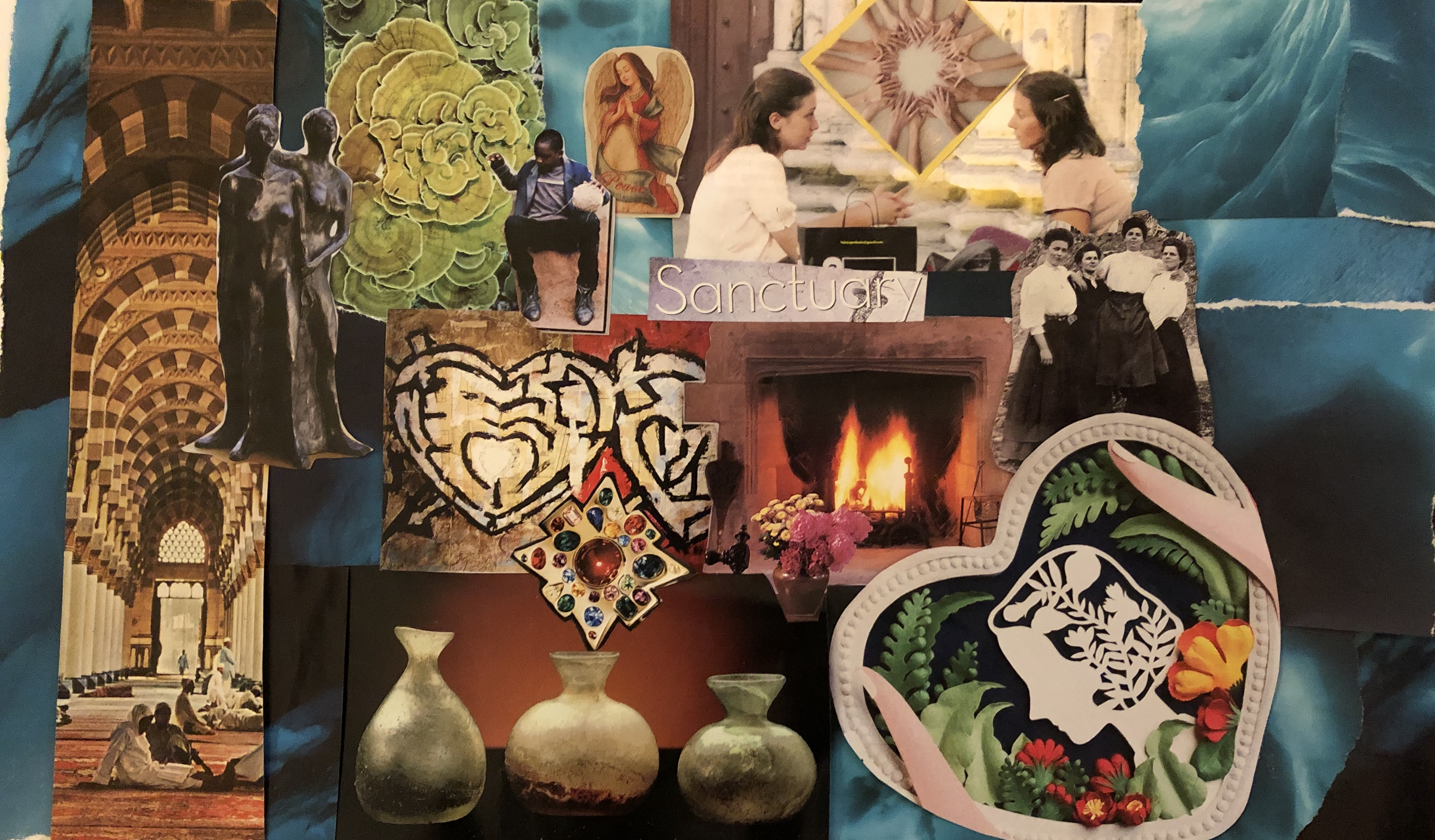 "Creating Sanctuary: The ""Beautiful Ones"" Group Card"